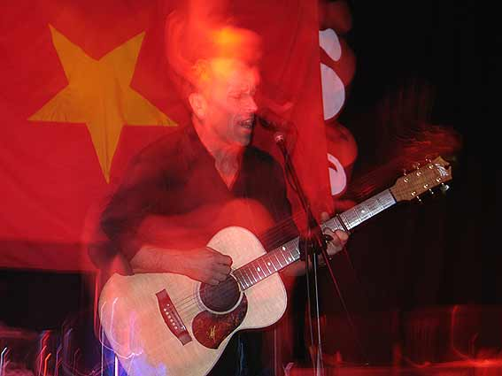 Mark Seymour live: Lavan i rösten fortfarande aktiv