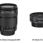 EF-S 18-135mm f3.5-5.6 IS STM och EF 40mm f2.8 STM