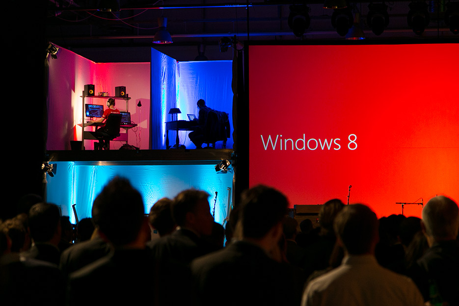 Releasefest för Windows 8