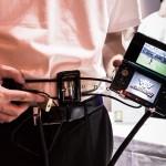 Första svenska visningen av Nintendo DS = säkerhetspådrag