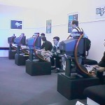 Playstation test room London 1998 ECTS (m tidig digitalkamera)