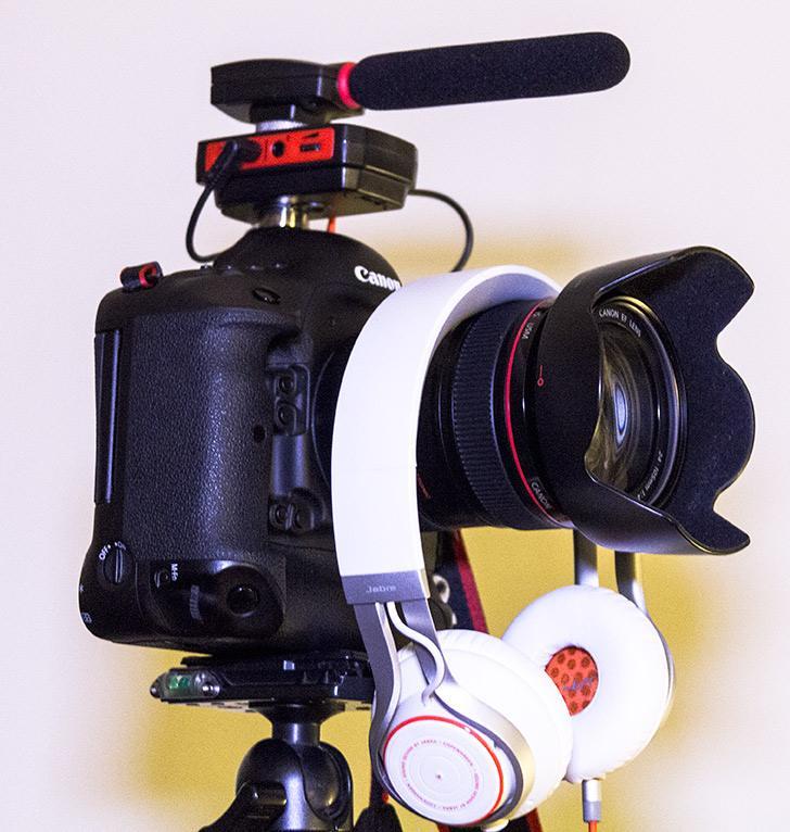 Test: MyMyk ger medhörning och bättre ljudkontroll vid nära DSLR-filmning