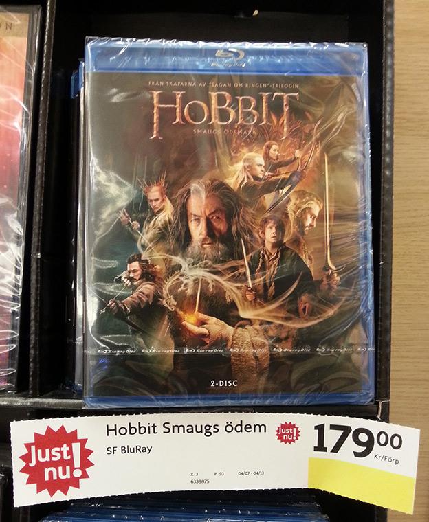 Hobbit 2 - Smaugs onaturliga svullnad