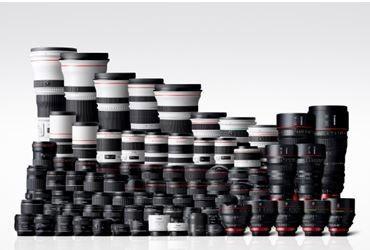 Canon nu över 100 miljoner EF-objektiv