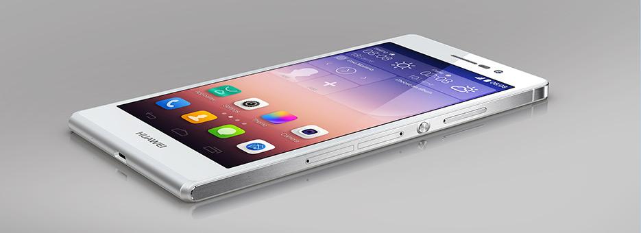 Huawei P7 snabb rackare