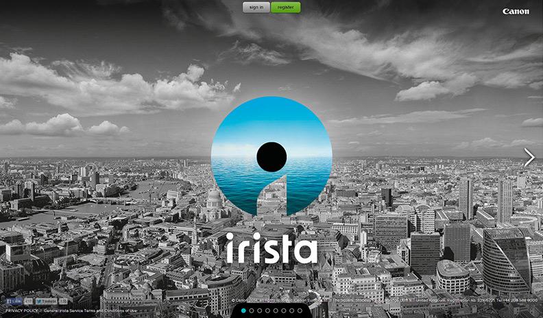 Canon irista - nytt molnbaserat bildbibliotek