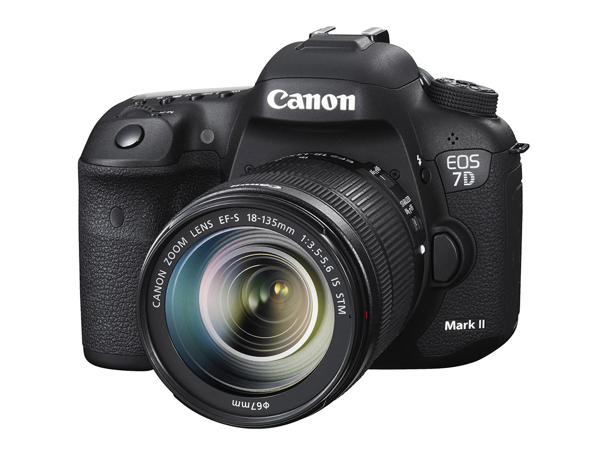 Canon Eos 7D Mark II toppmodell på Photokina-lansering