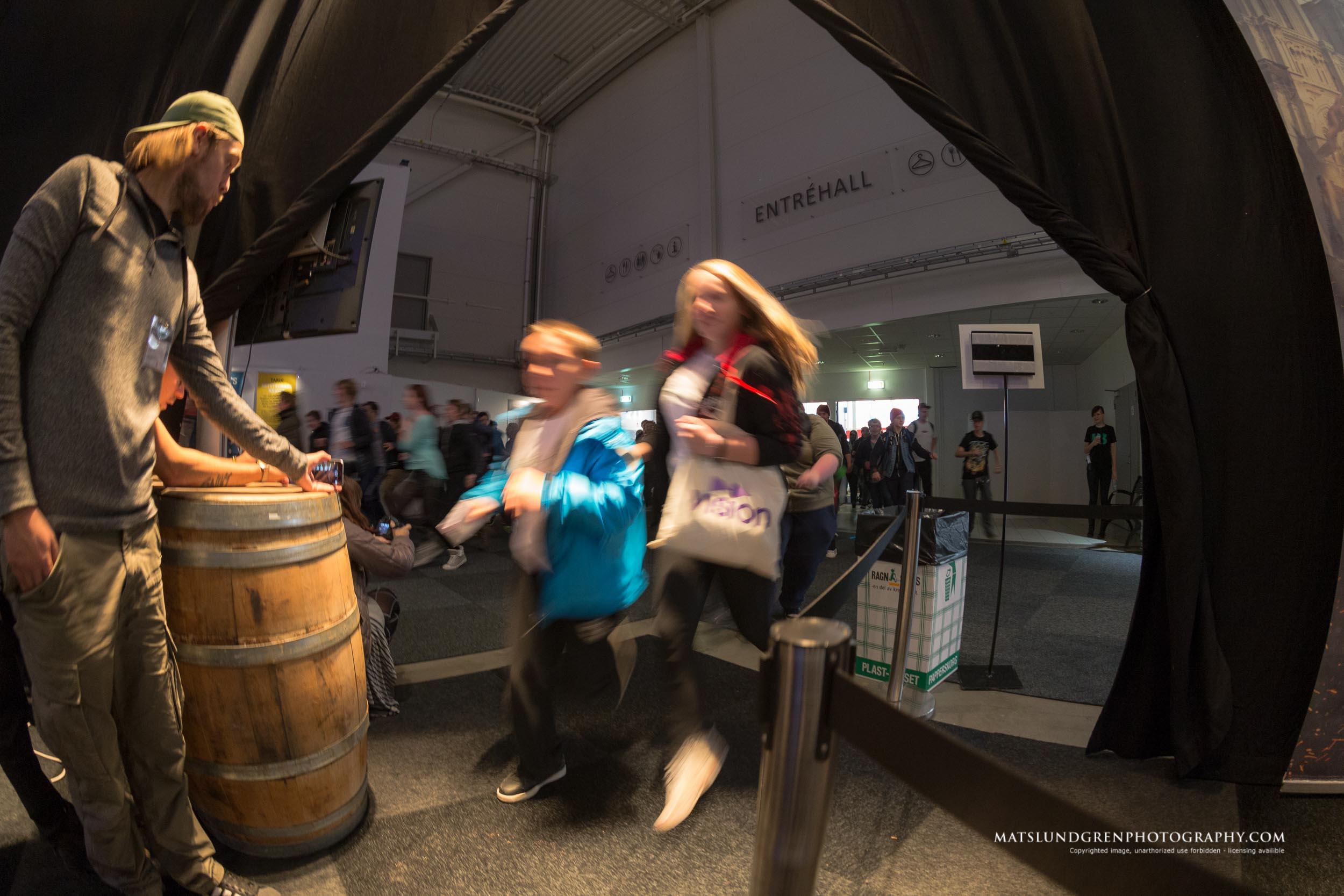 Film, serier och spel möts på nya Comic Con Gamex