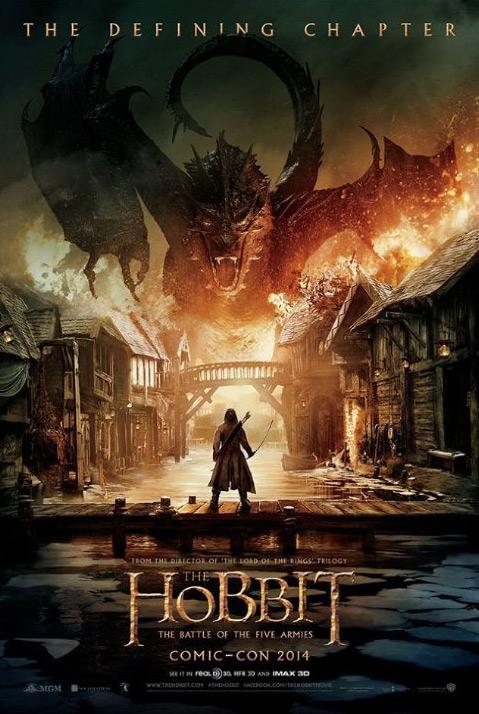 Hetluft som klimax i Hobbit - Femhäraslaget