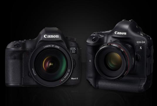 Ny firmware för Canon Eos 1D x och 5D Mark III