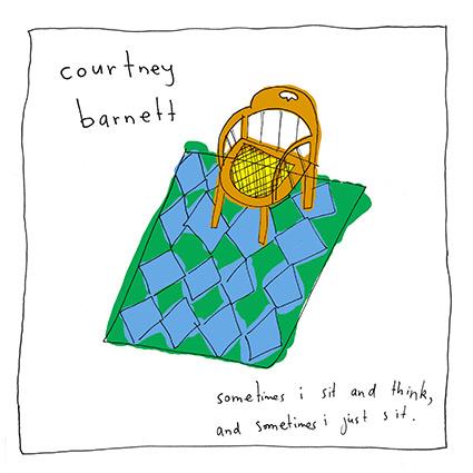 Courtney Barnett gör månadens album - hungrigt rockig debut