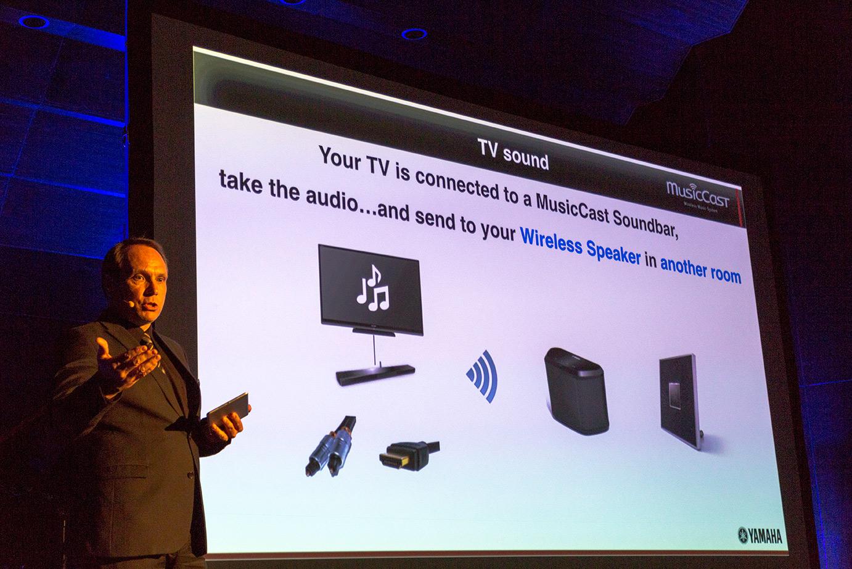 Yamaha utmanar Sonos med högupplöst ljud