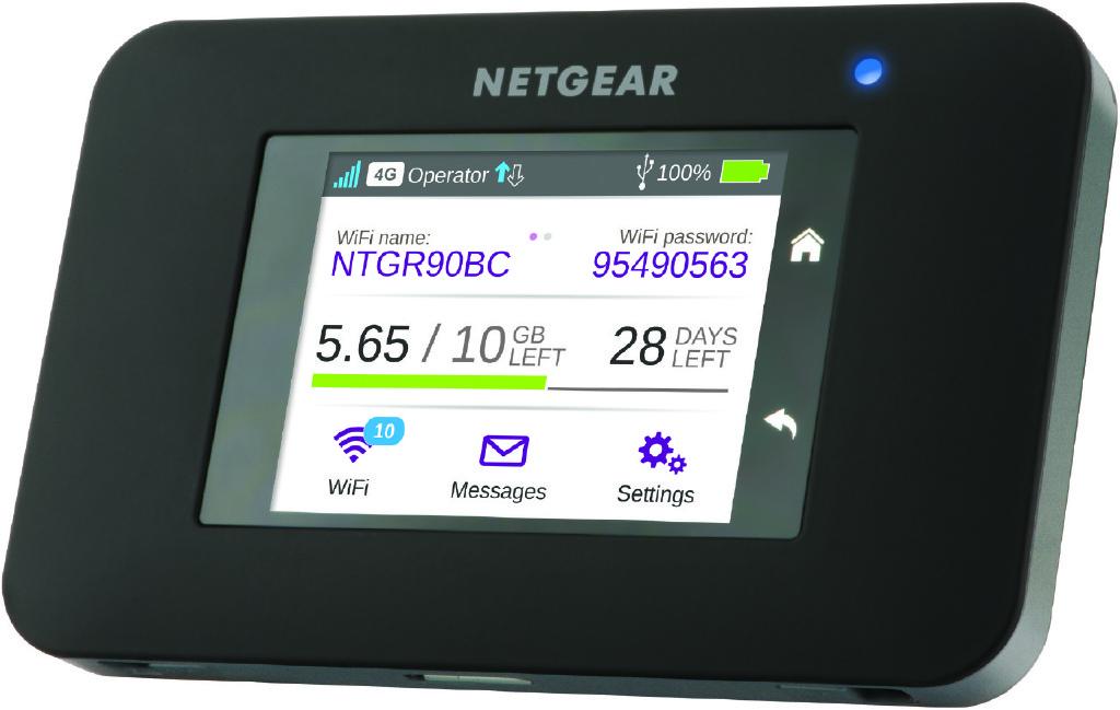 Netgear släpper AirCard 790 som ny snabb mobil hotspot
