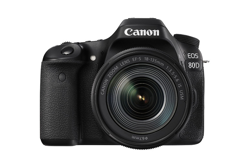 Canon lanserar Eos 80D med nytt autofokus