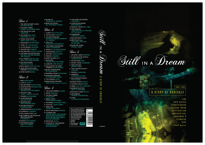 Samlingen 'Still In A Dream; A Story Of Shoegaze' recenseras - för många namn saknas