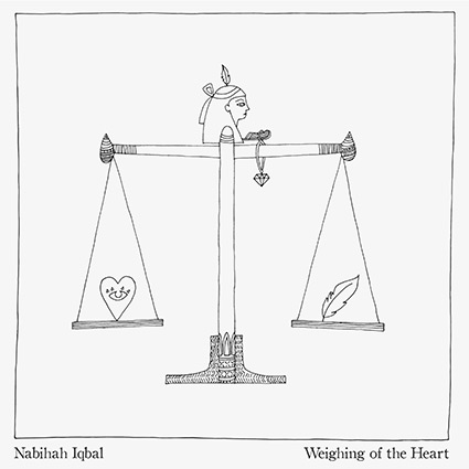 Nabihah Iqbal 'Weighing of the Heart' recenseras - talangfull indiemix