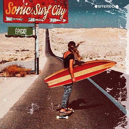 Sonic Surf City 'ÉPICO!' recenseras - Ett pärlband av välartikulerad fortpop