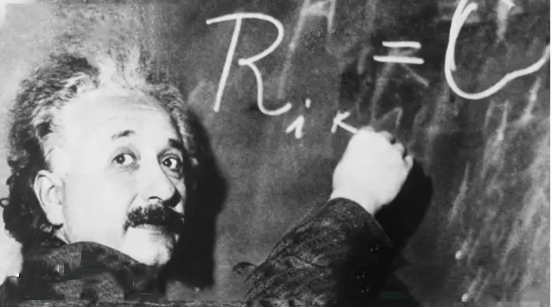 Skriv som ett geni – Einsteins handstil som typsnitt