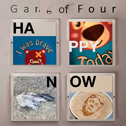 Gang of Four 'Happy Now' recenseras - Strålande inledningen tappar sen fokus