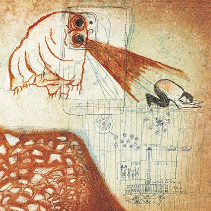 Deerhoof 'Future Teenage Cave Artists' bitvis helt lysande