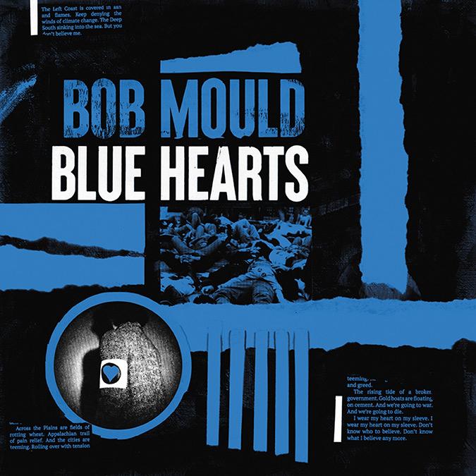 Bob Mould 'Blue Hearts' ös, variation och hjärta
